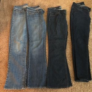 Jeans- The Loft, The Limited, Old Navy